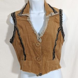 Ghetto Goldilocks Reclaimed Dabric Vest